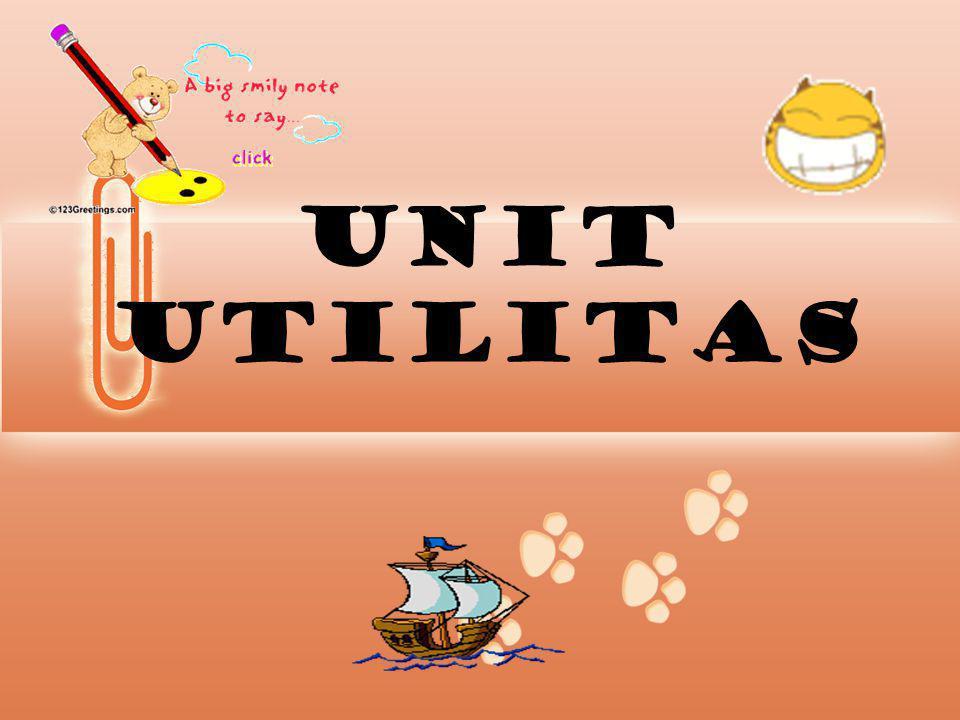 UNIT UTILITAS