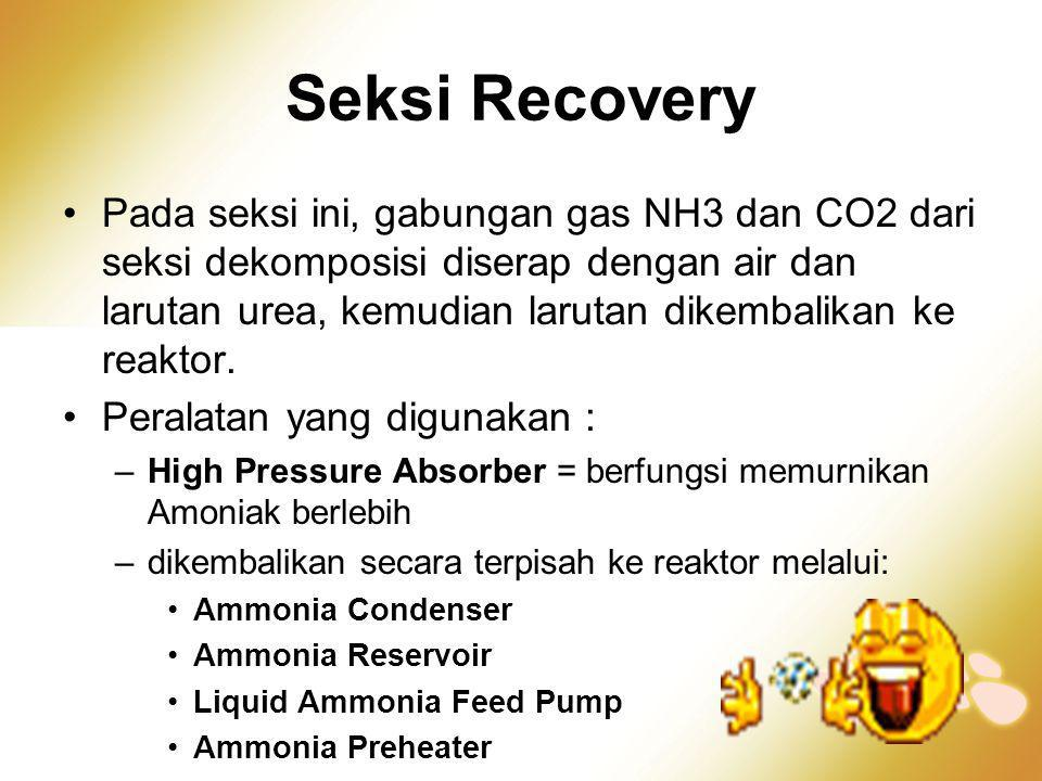 Seksi Recovery
