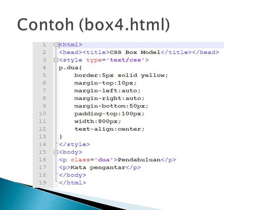 Contoh (box4.html)