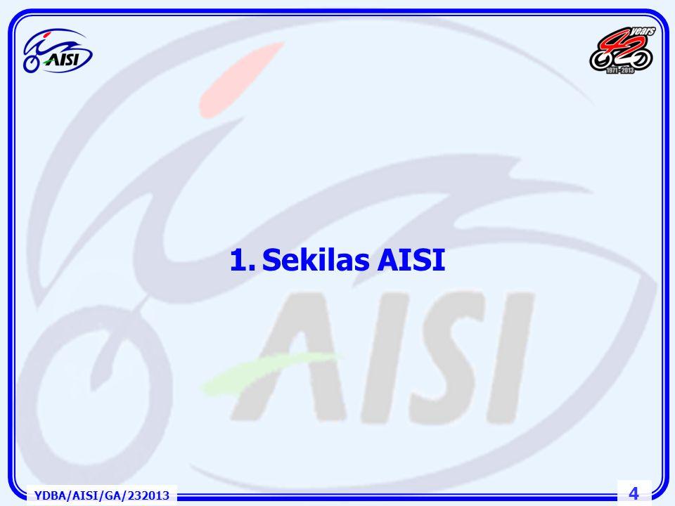 Sekilas AISI YDBA/AISI/GA/232013