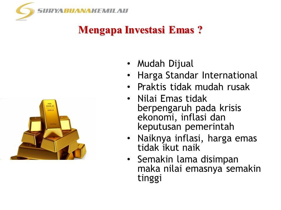 Mengapa Investasi Emas