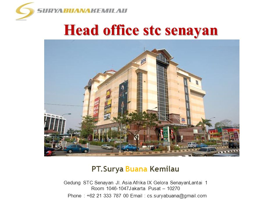 Head office stc senayan
