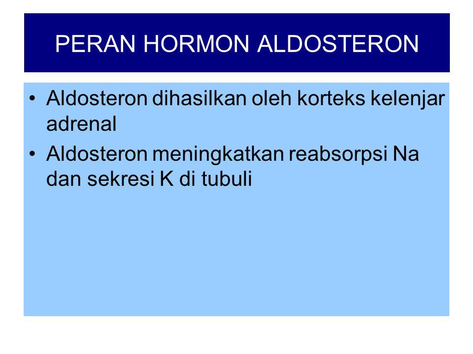 PERAN HORMON ALDOSTERON