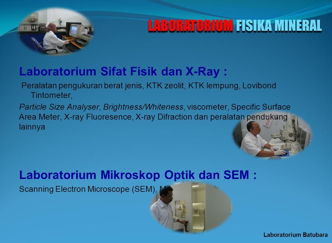 LABORATORIUM FISIKA MINERAL