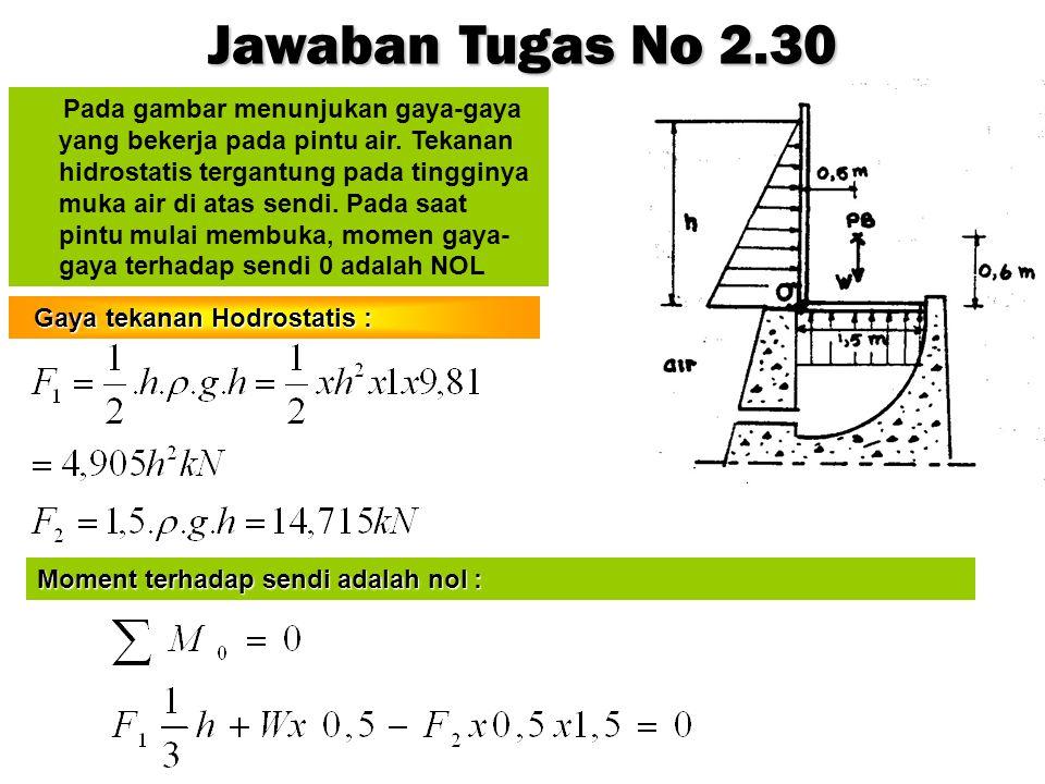 Jawaban Tugas No 2.30