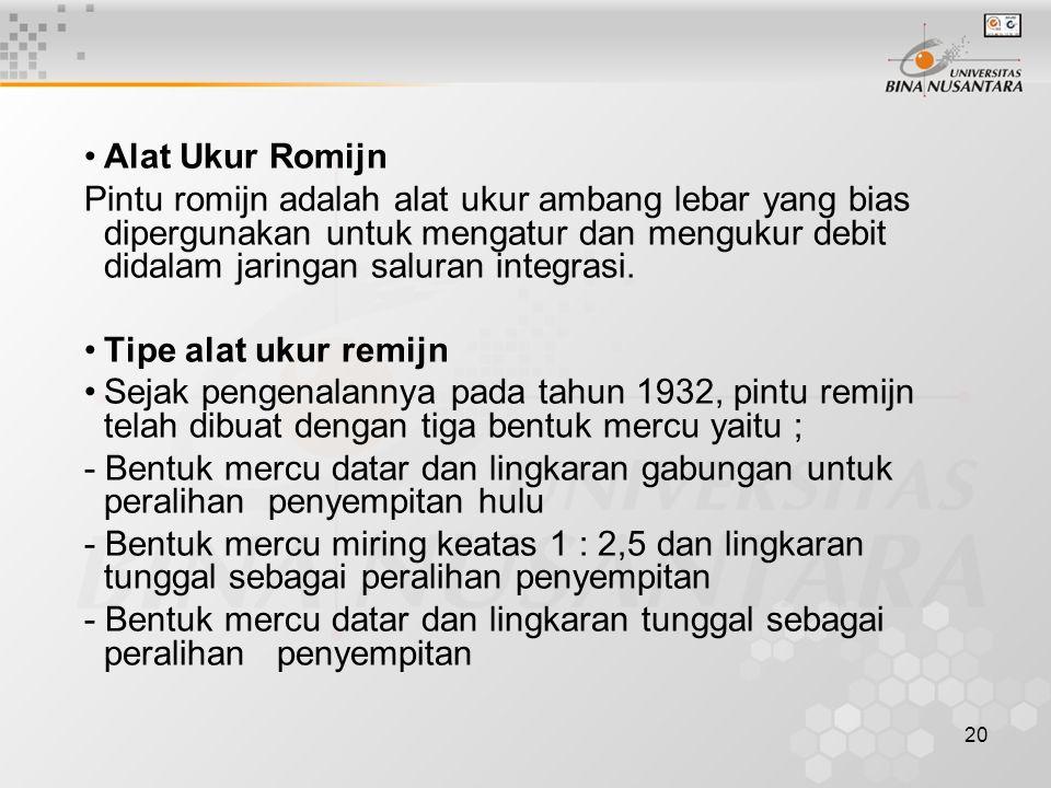 Alat Ukur Romijn