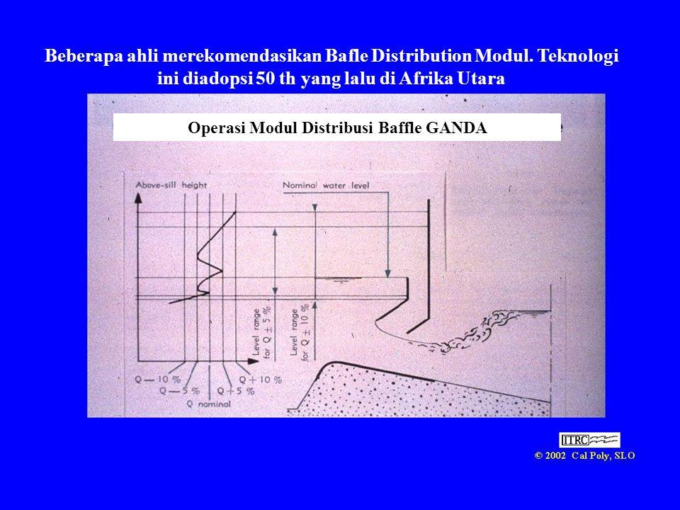 Operasi Modul Distribusi Baffle GANDA