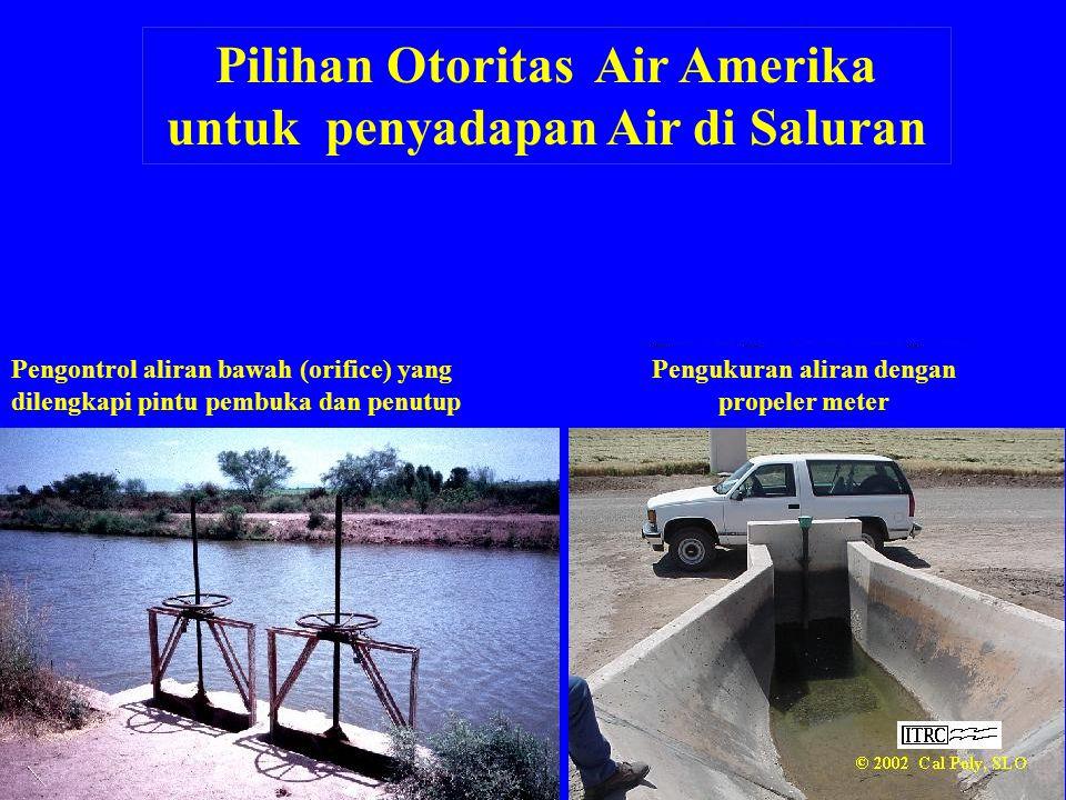 Pilihan Otoritas Air Amerika untuk penyadapan Air di Saluran