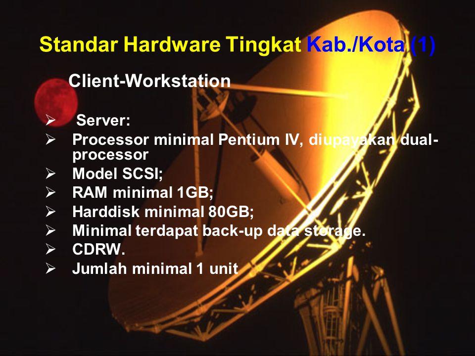 Standar Hardware Tingkat Kab./Kota (1)