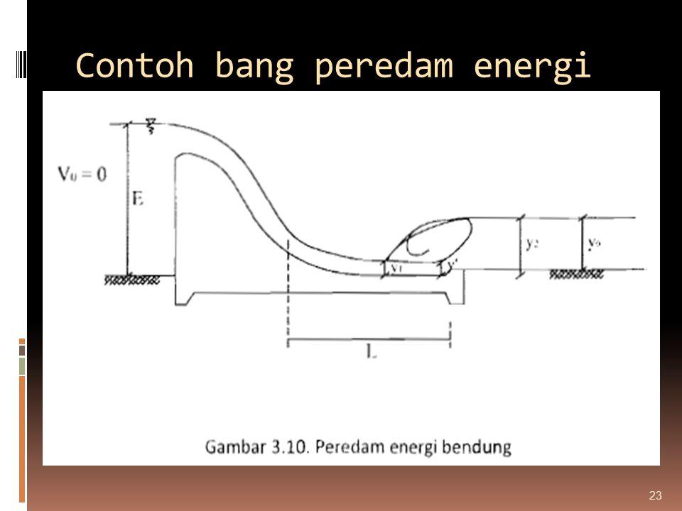 Contoh bang peredam energi