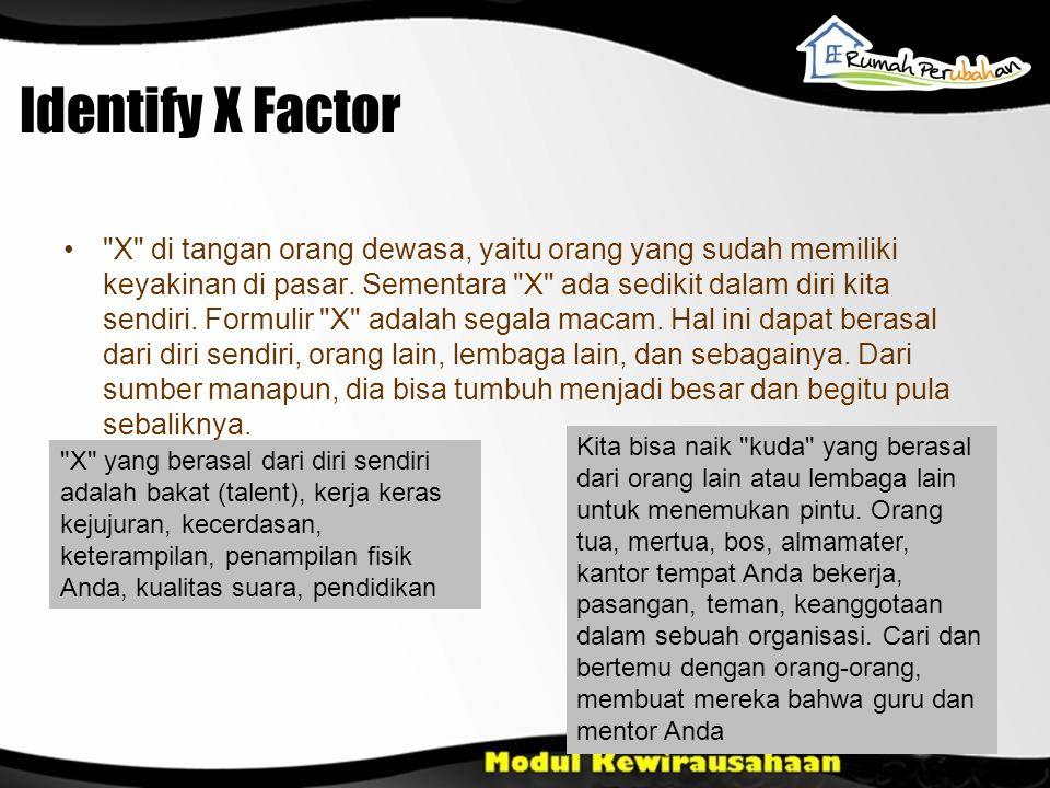 Identify X Factor
