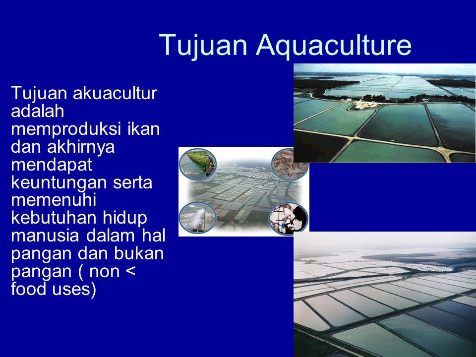 Tujuan Aquaculture