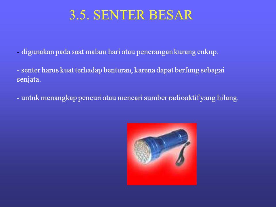 3.5. SENTER BESAR