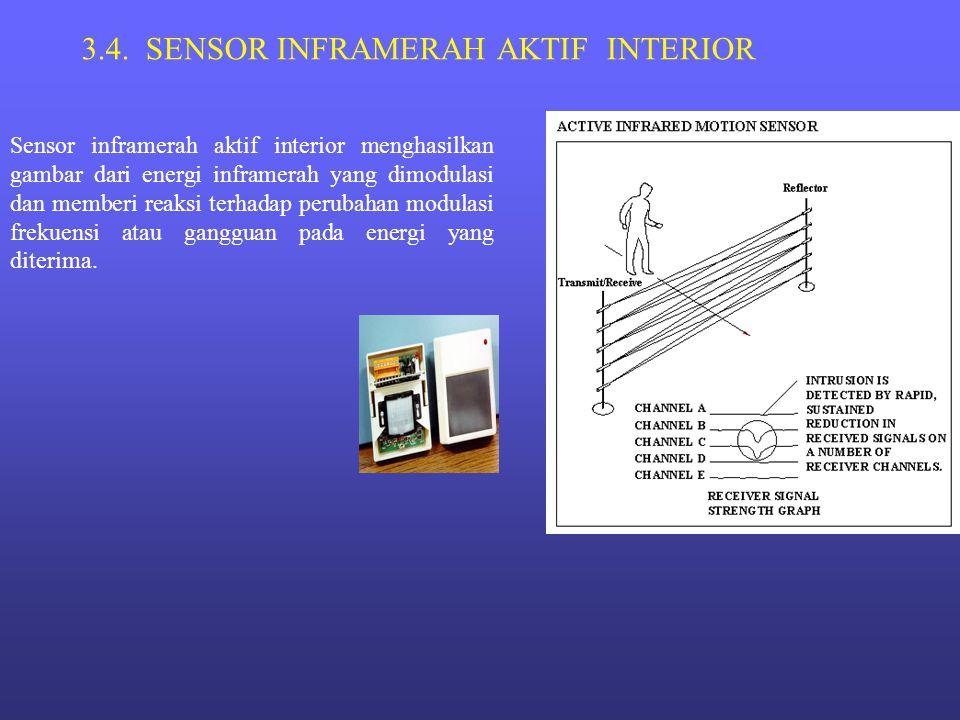 3.4. SENSOR INFRAMERAH AKTIF INTERIOR