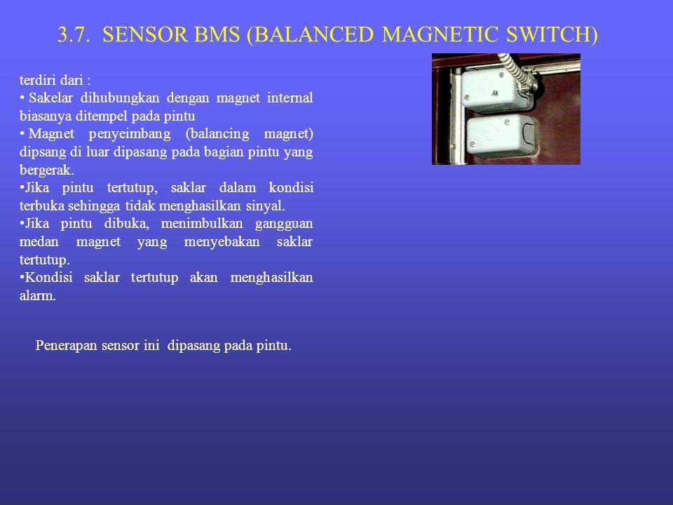3.7. SENSOR BMS (BALANCED MAGNETIC SWITCH)