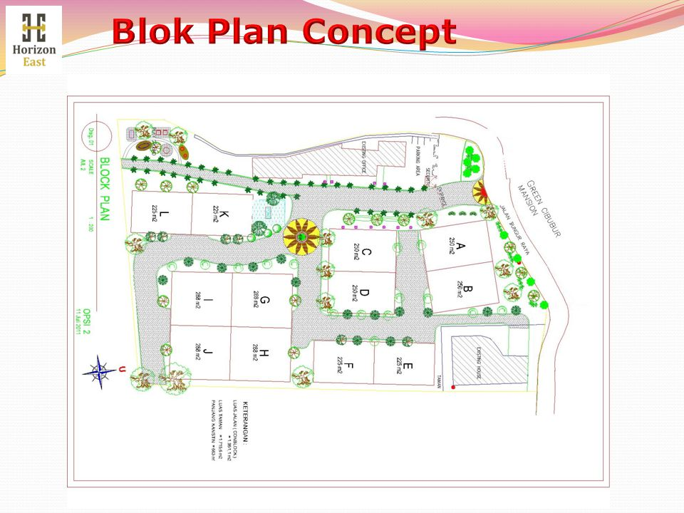 Blok Plan Concept