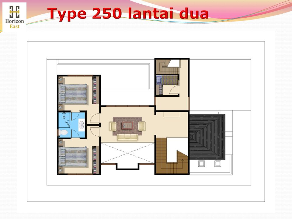 Type 250 lantai dua