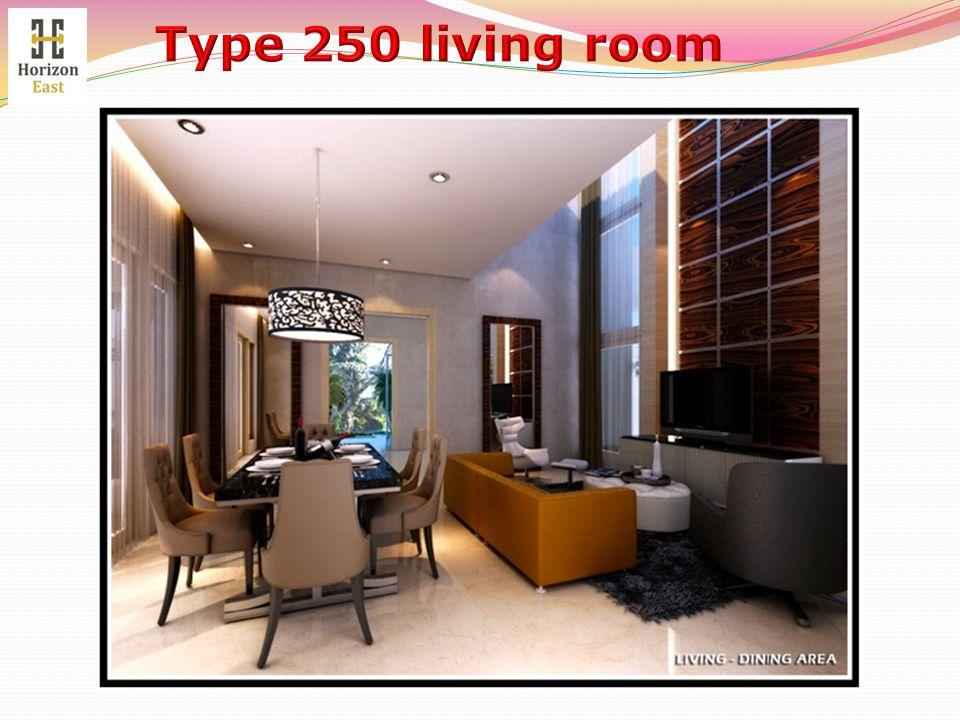 Type 250 living room