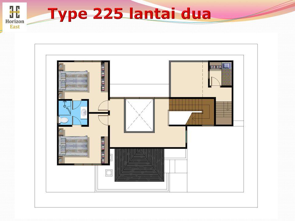Type 225 lantai dua