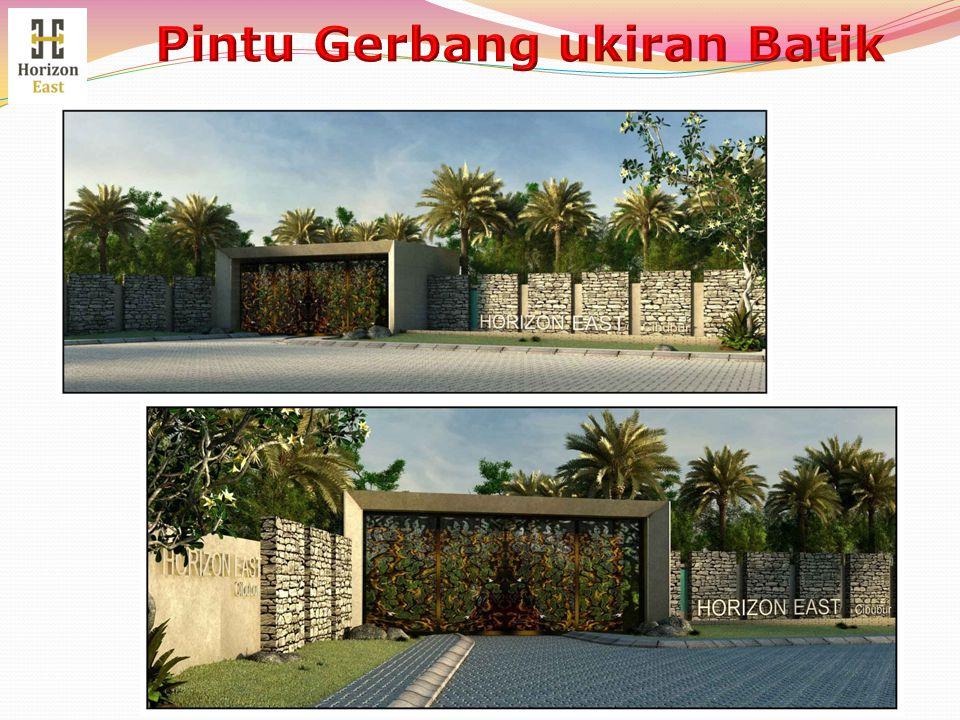 Pintu Gerbang ukiran Batik