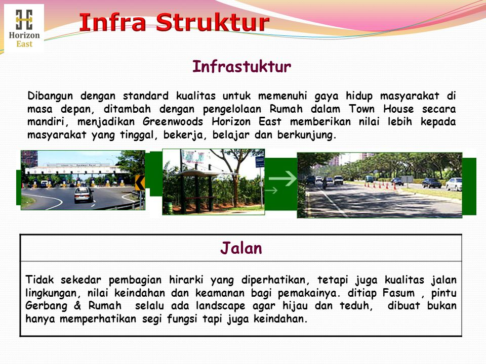 Infra Struktur Infrastuktur Jalan