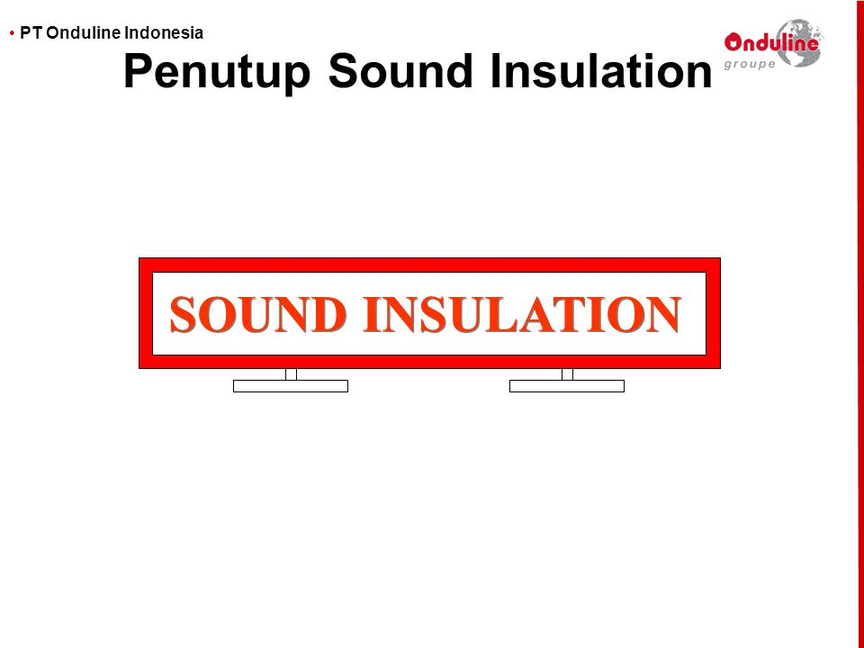 Penutup Sound Insulation