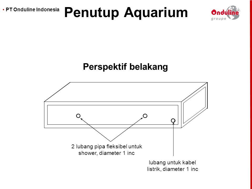 2 lubang pipa fleksibel untuk