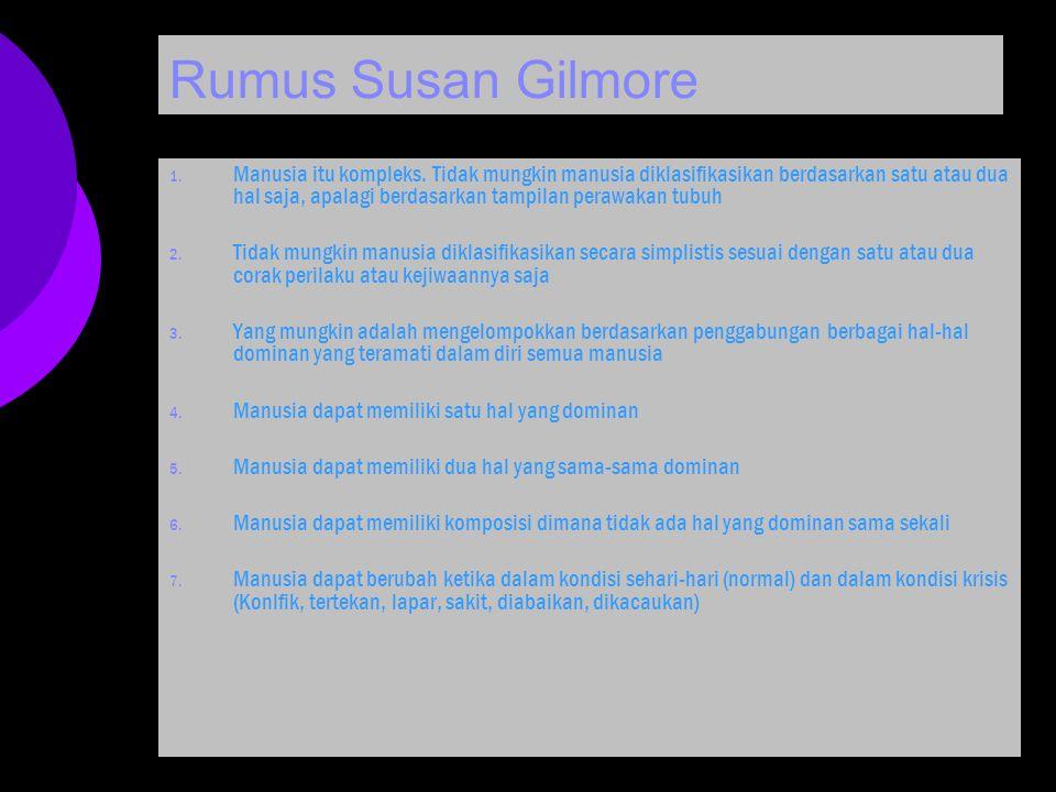 Rumus Susan Gilmore
