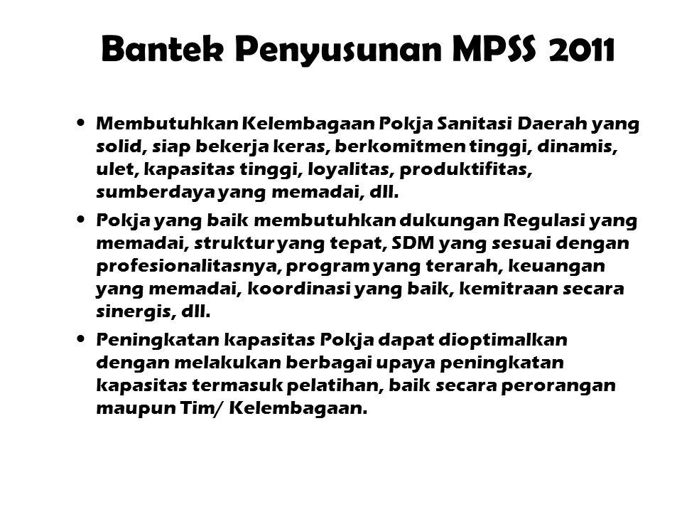 Bantek Penyusunan MPSS 2011
