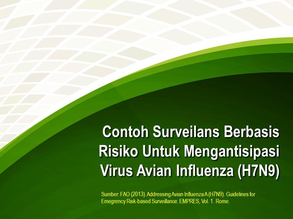 Contoh Surveilans Berbasis Risiko Untuk Mengantisipasi Virus Avian Influenza (H7N9)