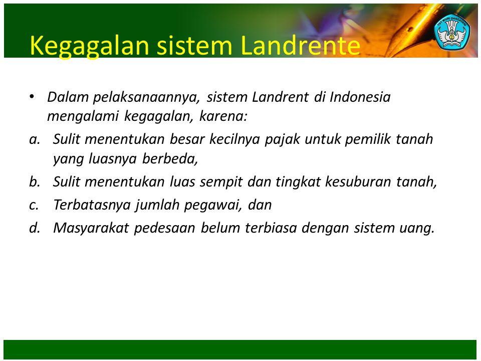 Kegagalan sistem Landrente