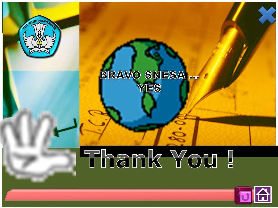 BRAVO SNESA ... YES Thank You !