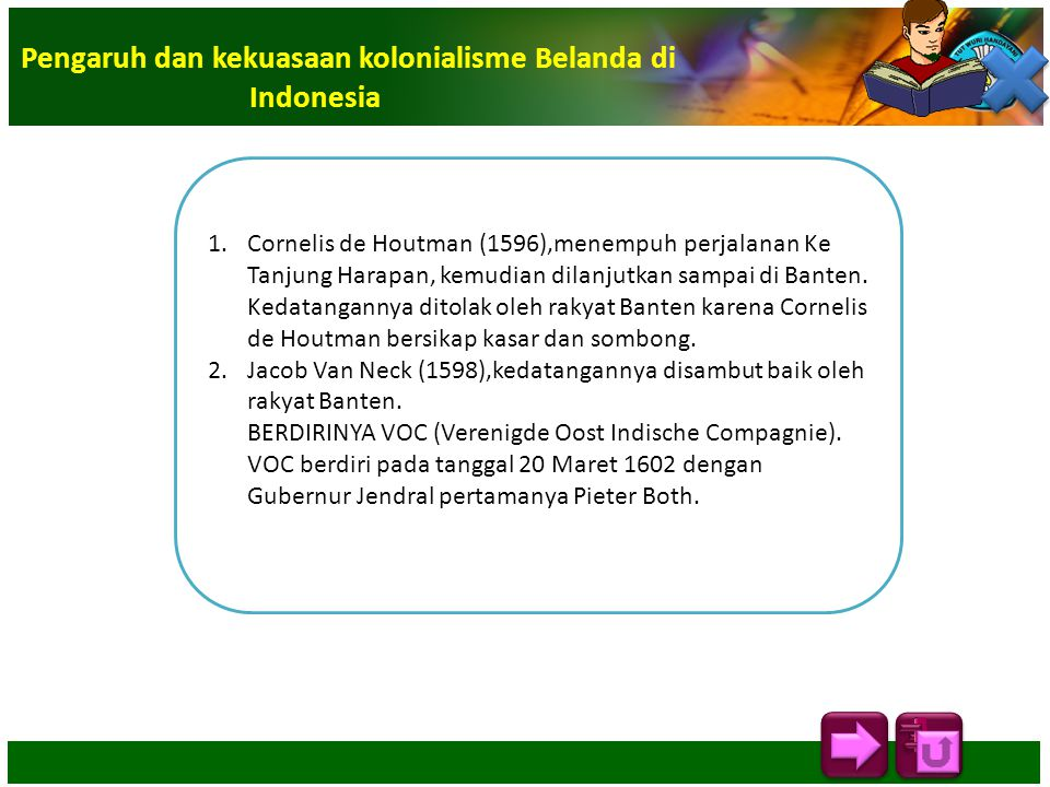 Pengaruh dan kekuasaan kolonialisme Belanda di Indonesia