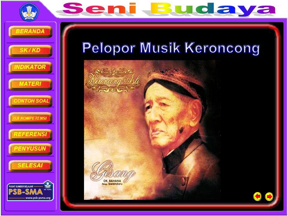 Pelopor Musik Keroncong
