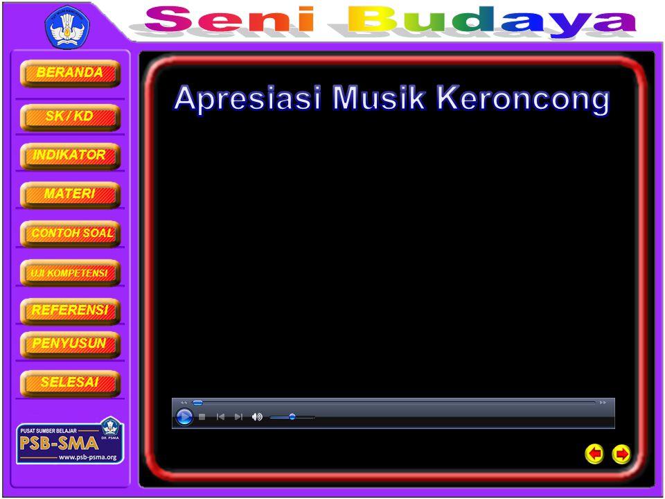 Apresiasi Musik Keroncong