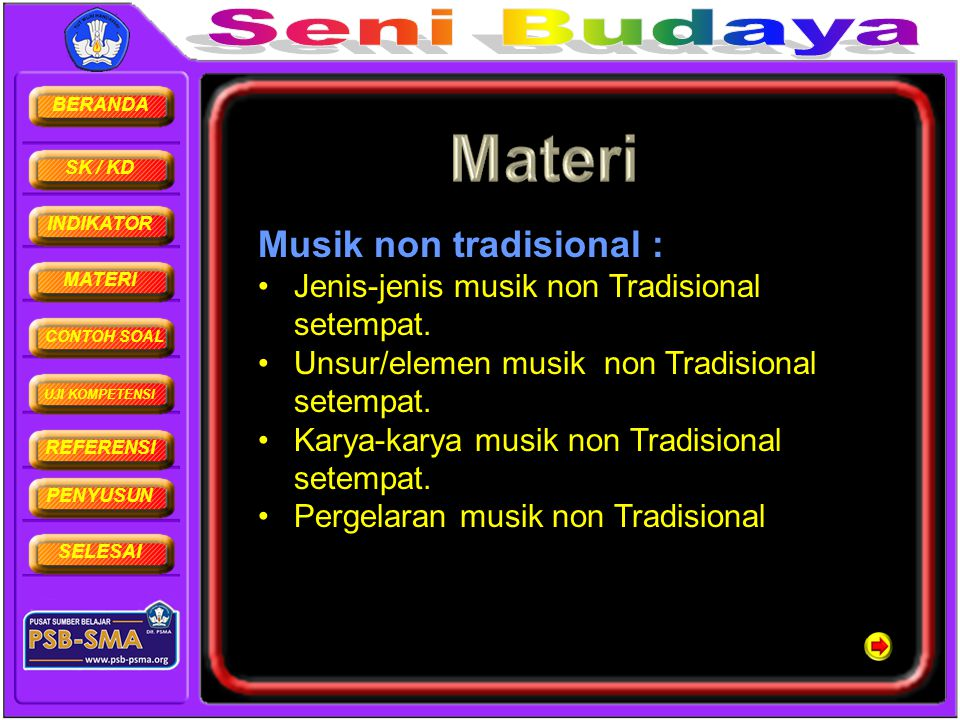 Musik non tradisional :