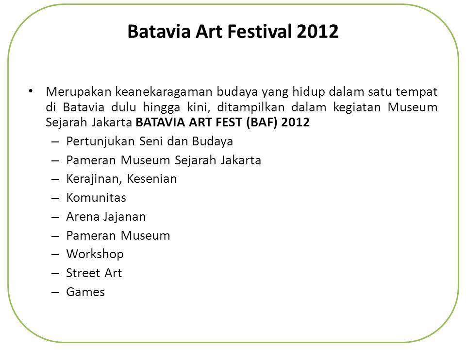 Batavia Art Festival 2012