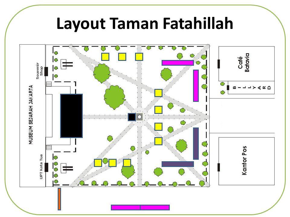 Layout Taman Fatahillah