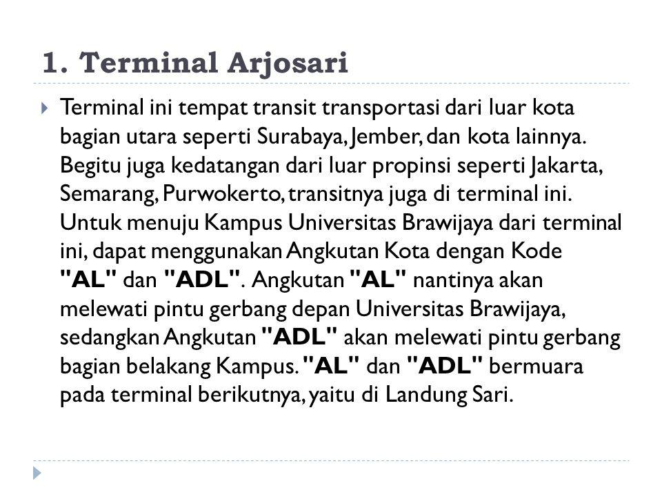 1. Terminal Arjosari