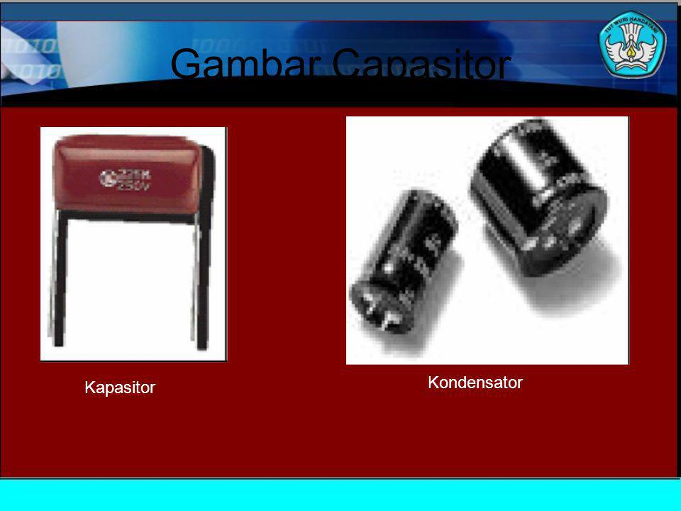 Gambar Capasitor Kondensator Kapasitor