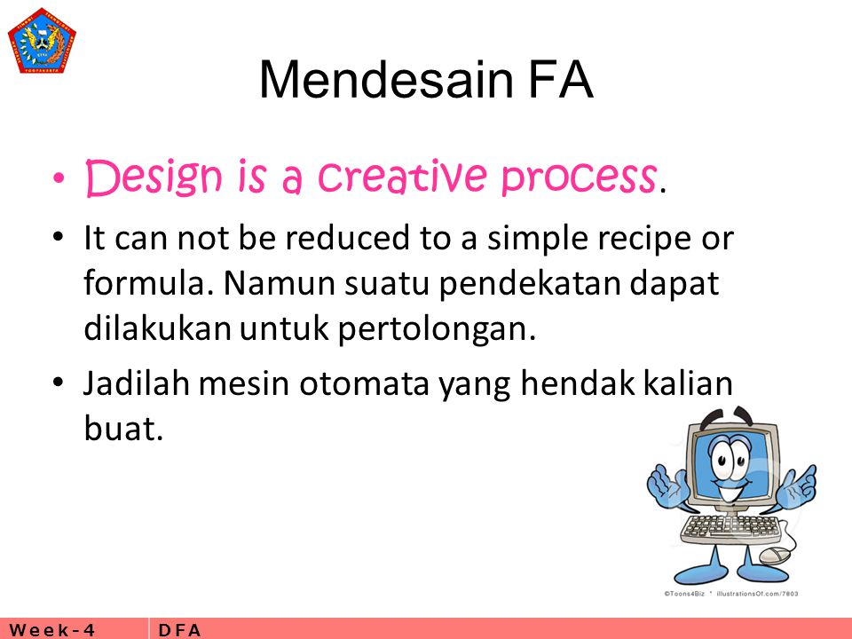 Mendesain FA Design is a creative process.