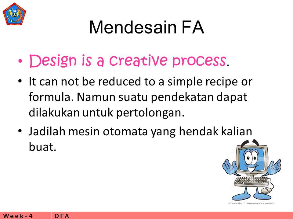 Mendesain FA Design is a creative process.