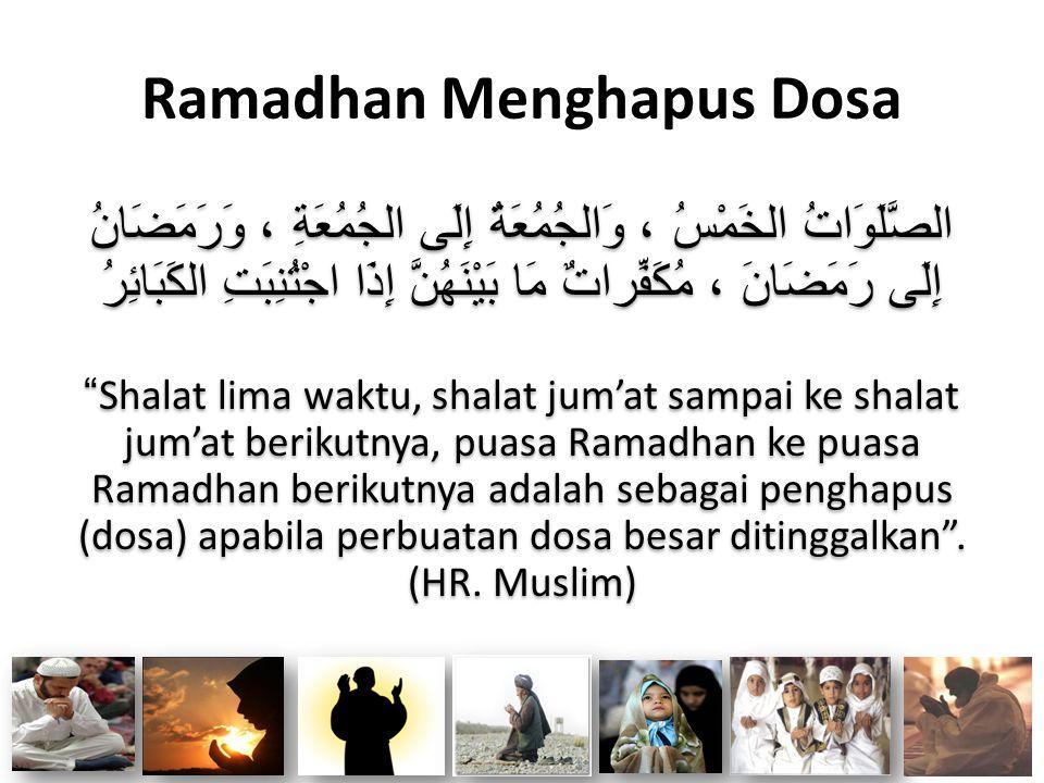 Ramadhan Menghapus Dosa