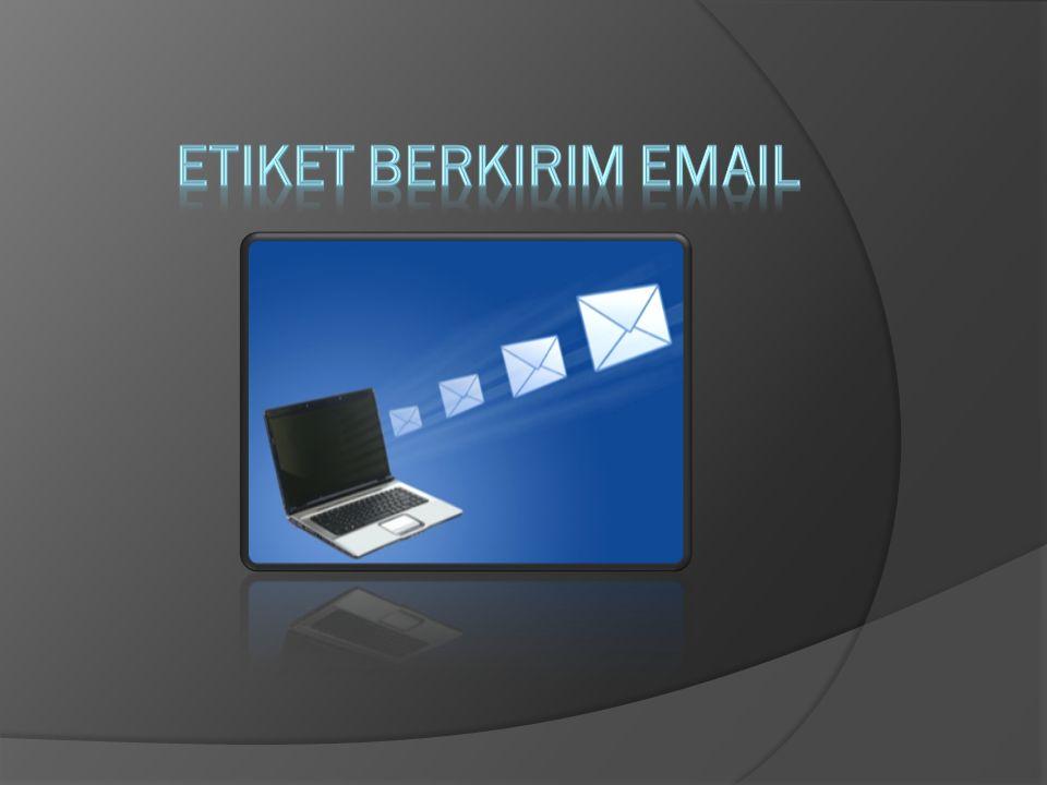 ETIKET BERKIRIM EMAIL