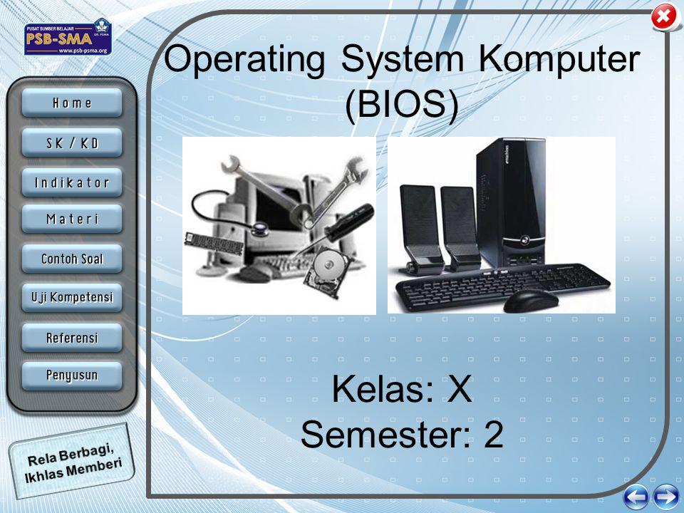 Operating System Komputer (BIOS)