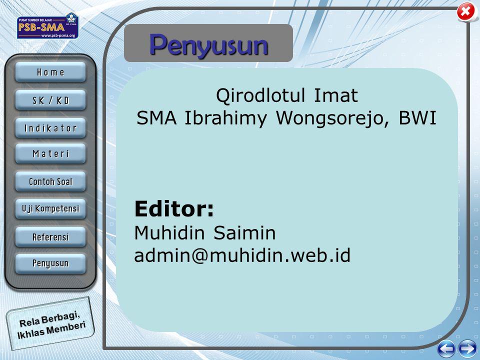 SMA Ibrahimy Wongsorejo, BWI