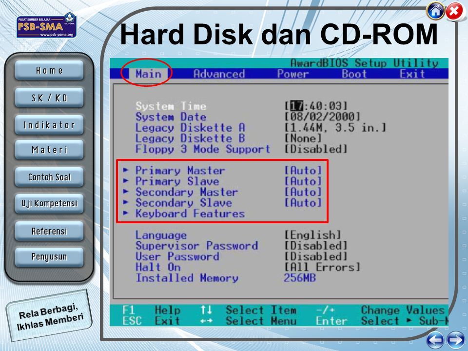 Hard Disk dan CD-ROM