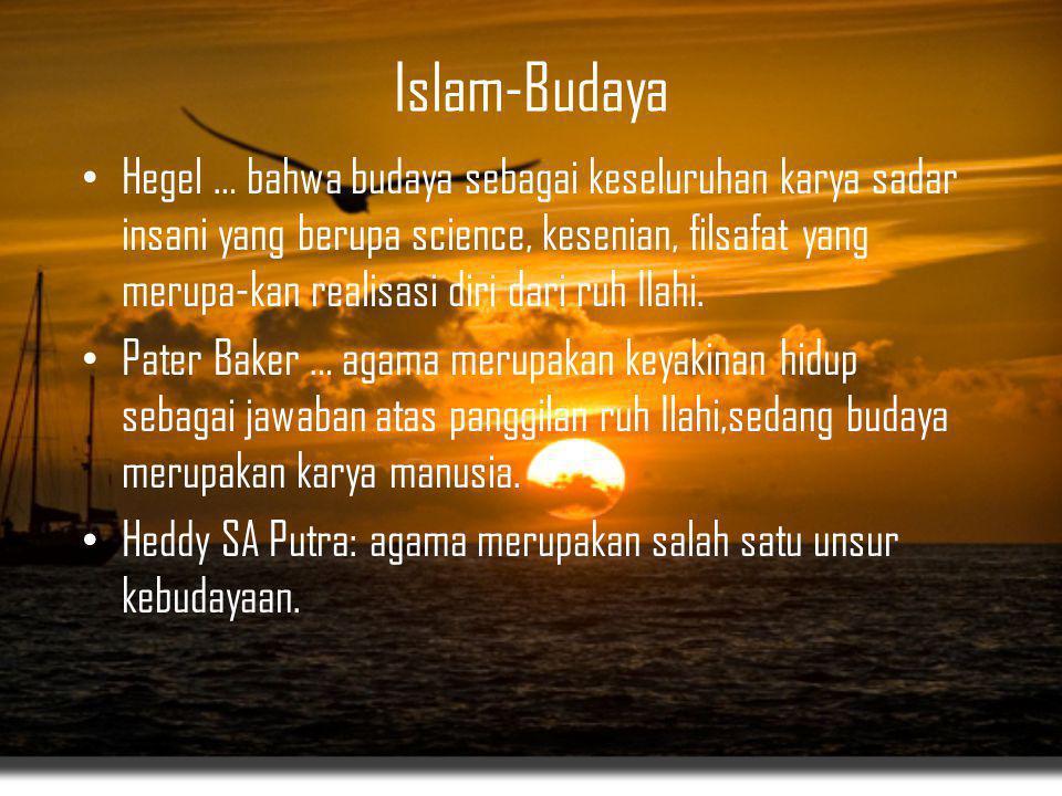 Islam-Budaya
