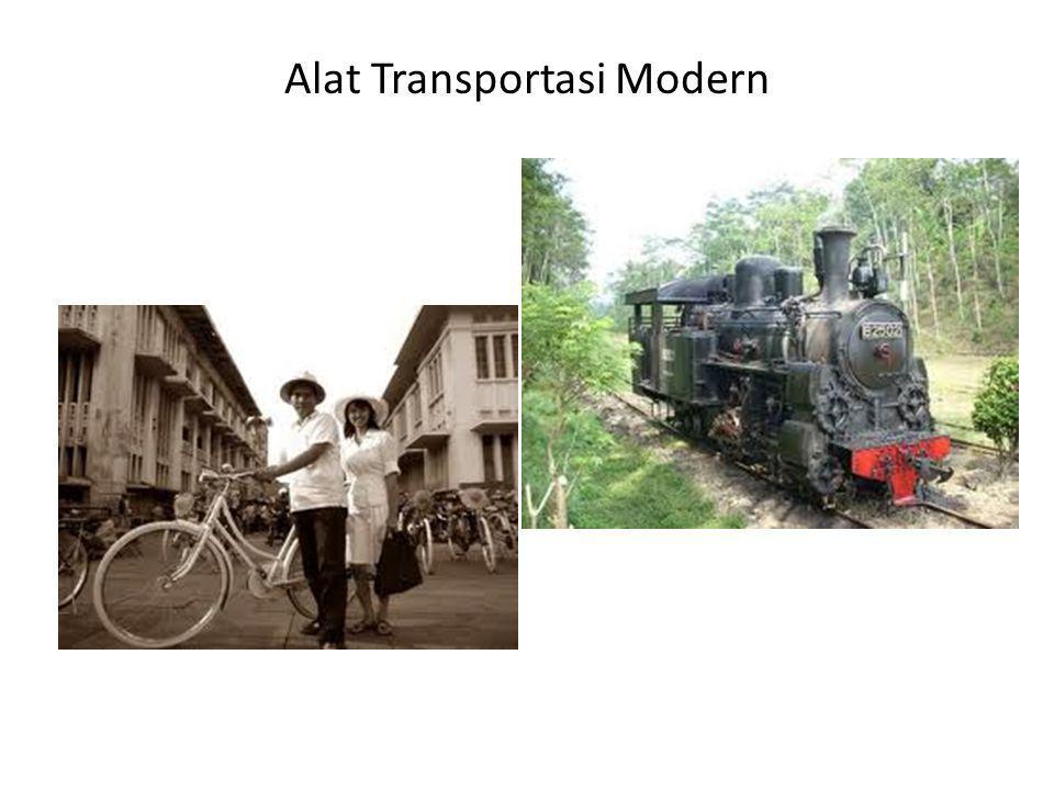 Alat Transportasi Modern