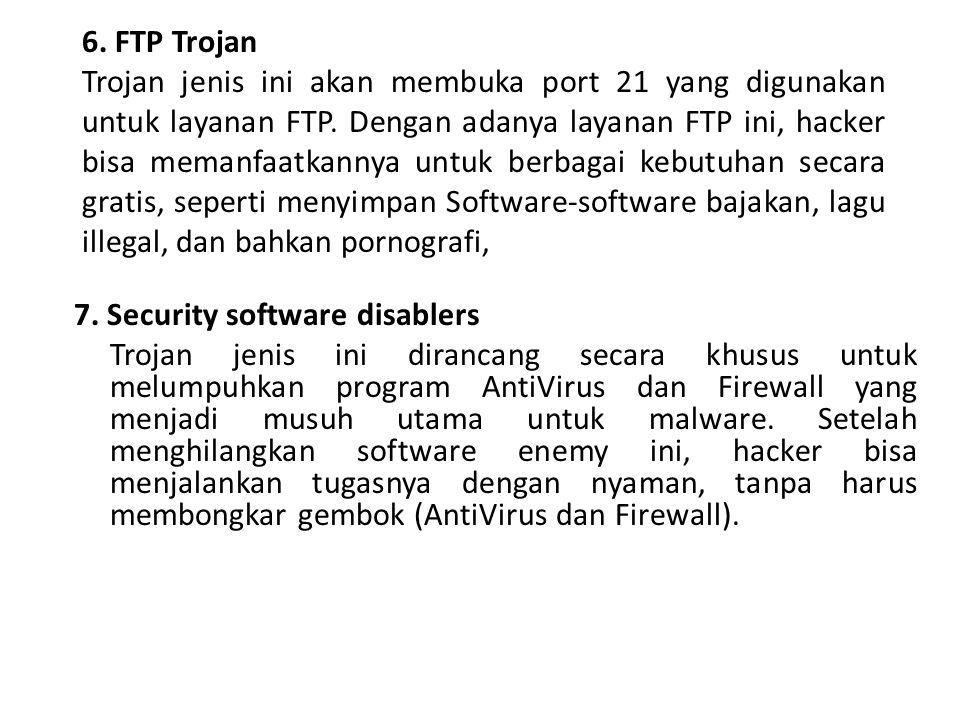 6. FTP Trojan